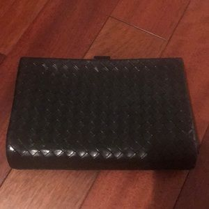 Bottega black clutch